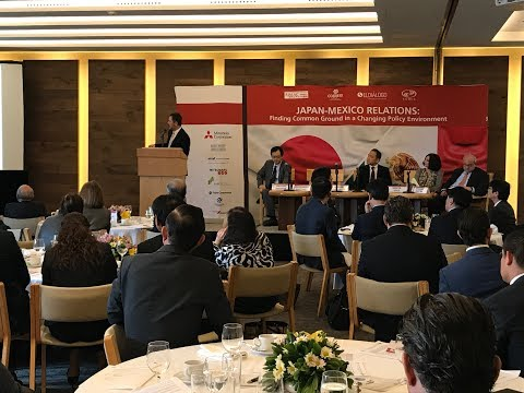 JALAC Seminar: Japan Mexico Relations (October 17, 2017)