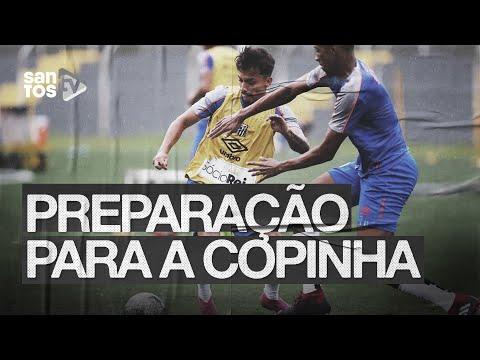 SANTOS SE PREPARA PARA A COPA SP 2020