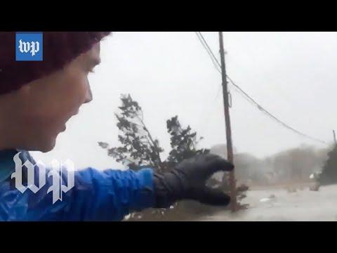 Severe flooding hits eastern Massachusetts coast