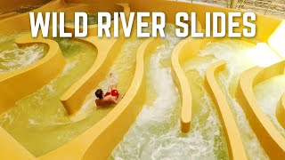 Extreme Current Water Slides Compilation | White Waterslides