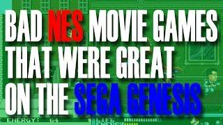 Bad Nes Movie Games That Were Great On The Sega Genesis | Michaelbthegamegenie