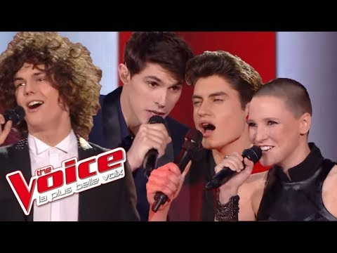 Fun – We Are Young | Anne Sila, Lilian Renaud, David Thibault et Côme | The Voice 2015 | Finale