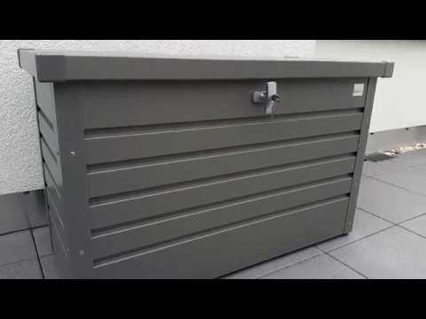 Auflagenboxen  Vorstellung und Erklärung: Auflagenbox/Gartenbox von