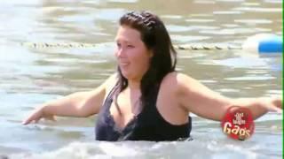 Скрытая камера  Тетя, подайте мячик, а то там крокодил