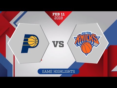 New York Knicks vs. Indiana Pacers - February 11, 2018
