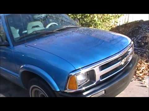1995 Chevy S10 Intro and Bumper Replacement