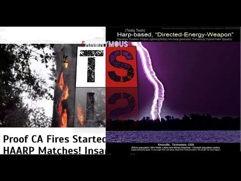 SANTA ROSA CALIFORNIA FIRES | DIRECTED ENERGY WEAPON | SMOKING GUN!!! | THE EVIDENCE | TruthSec