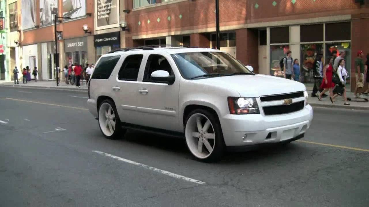 All White And 26 Inch Rims Yonge Street Florida Whip In