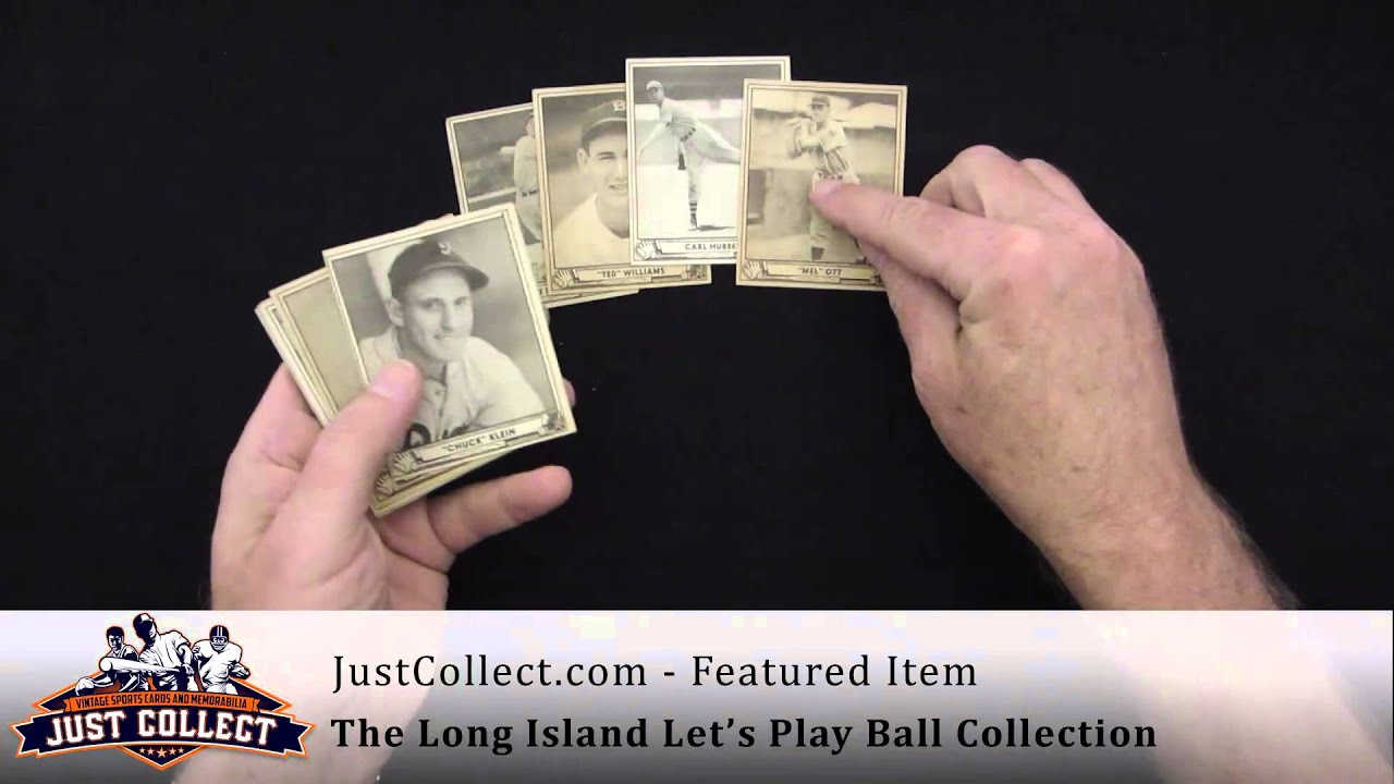 Just Collect The Nations Largest Buyer Of Vintage Baseball Cards
