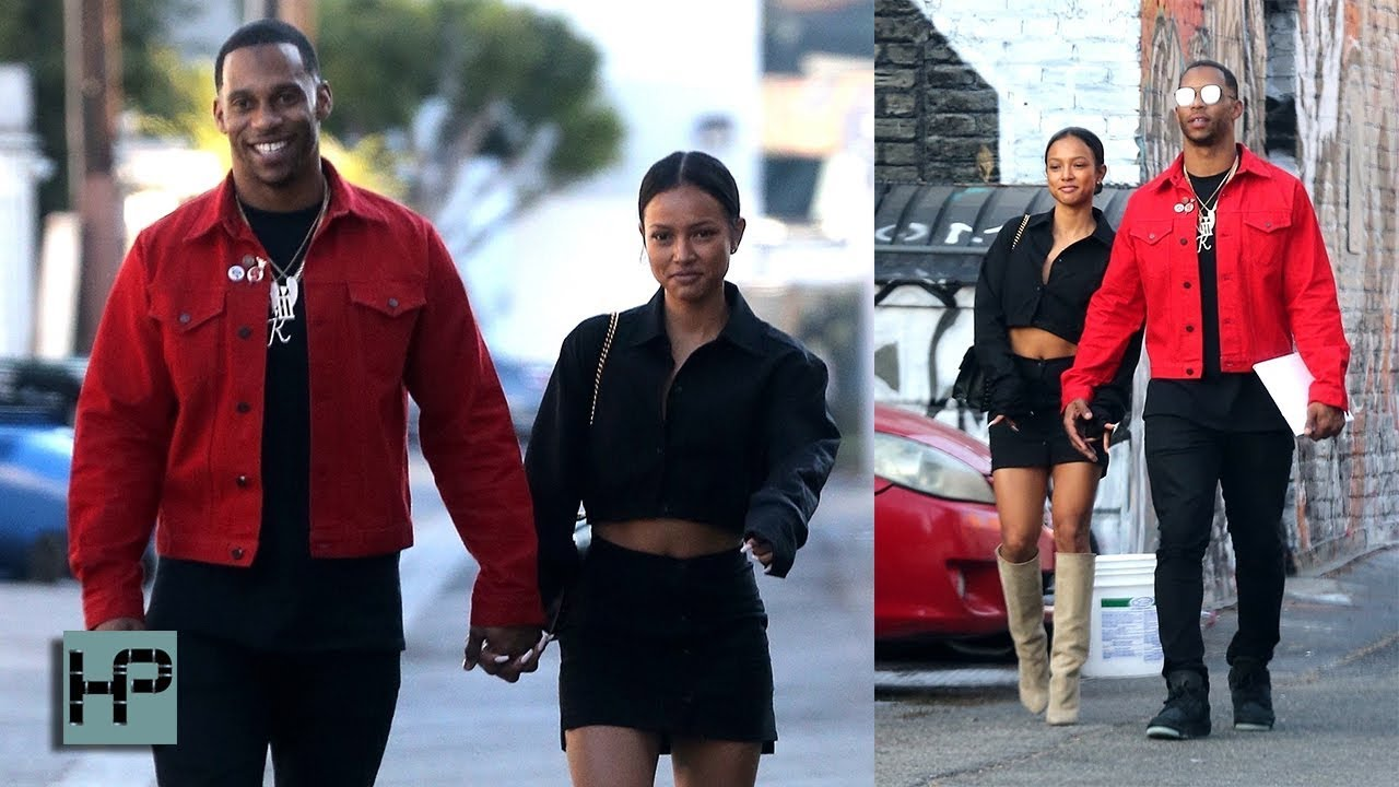 Karrueche Tran and Victor Cruz Are Dating and 'Doing Their Best to Make Things ...