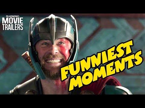 THOR: RAGNAROK | Funniest Moments from Marvel Superhero Movie
