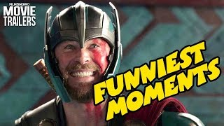THOR: RAGNAROK | Funniest Moments from Marvel Superhero Movie