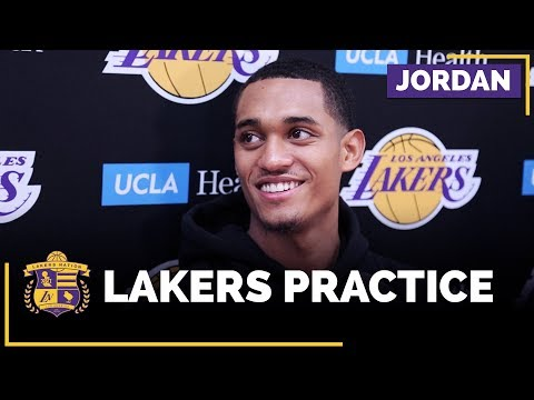 Jordan Clarkson On Lakers Improved Defense (And Losing $200 To LaMelo)