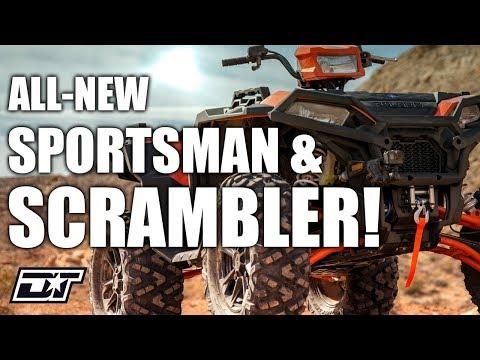 All-New 2020 Polaris Sportsman And Scrambler XP 1000 S