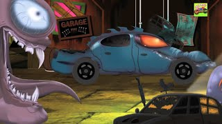Car Garage For Kids | Vehicles Videos And Cartoons for Children