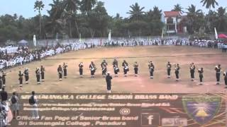 Sri Sumangala College Senior Brass Band /Oppa Gangnam Style  (Sports Meet 2014)