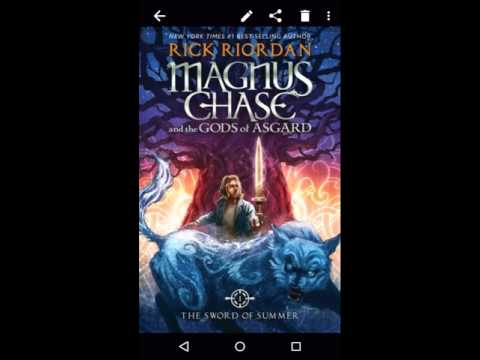Mangaman Reads: Magnus Chase [Book 1, Part 1]