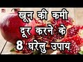 8 Natural Ways to Increase Hemoglobin in Hindi