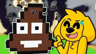 ¿EMOJIS EN MINECRAFT? ¡ESTA CONSTRUCCIÓN ES UNA CACA! 😂🏆 MINECRAFT BUILD BATTLE #27