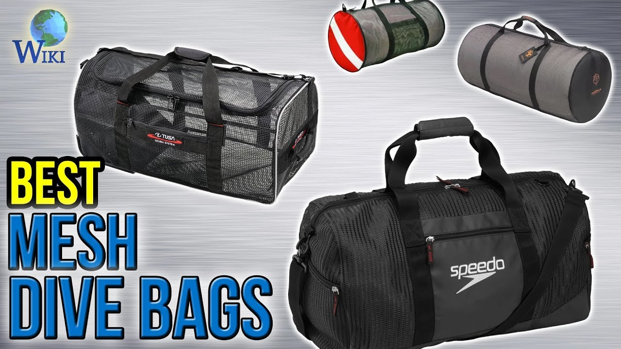 492bdfcf38 10 Best Mesh Dive Bags 2017 - YouTube