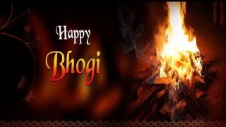 Bhogi Pongal Greetings- Wish you a Very Happy Bhogi Pongal 2016