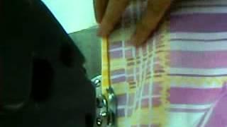Como fazer barrinha de lençol