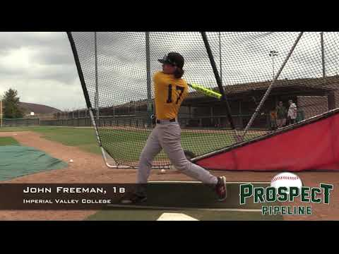 John Freeman Prospect Video, 1b, Imperial Valley College