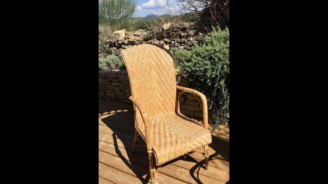 Comment Repeindre Des Fauteuils En Rotin entretenir un meuble en rotin ou en bambou