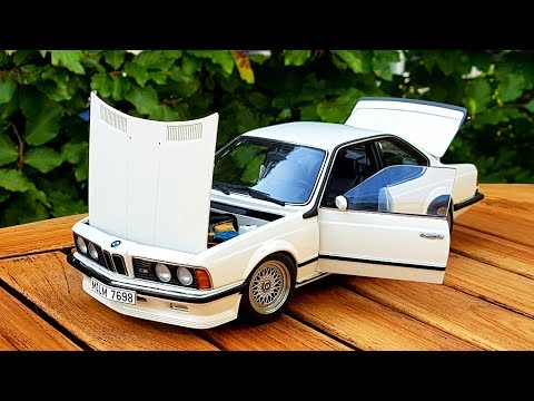 "AUTOart 1/18 BMW E24 M635 CSi ""Alpine White"" | Scale Diecast Model Car Review"