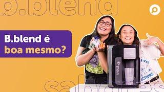 Imagem do prévia do vídeo: B.Blend vale a pena mesmo? TESTANDO sabores da MÁQUINA DE BEBIDAS da BRASTEMP!