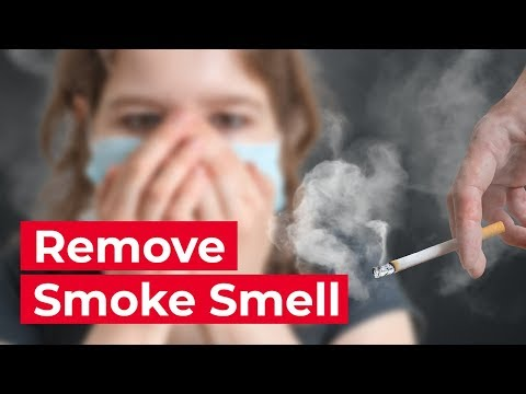 How to Get Rid of Smoke Odor in Your Home - YouTube