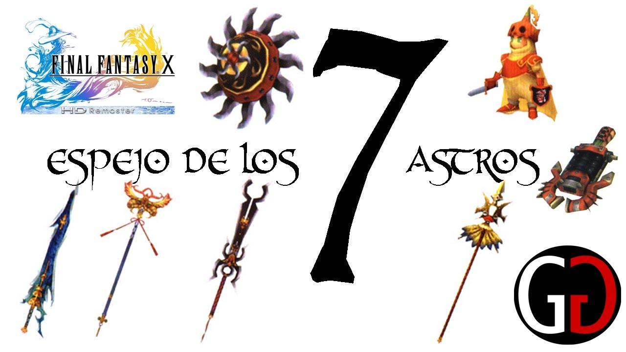 Final Fantasy X HD | Como obtener el Espejo de los 7 Astros - YouTube