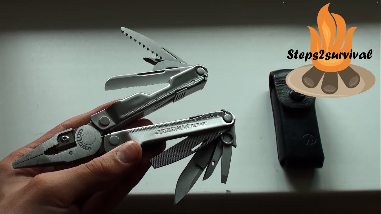 leatherman rebar multi-tool review: a toolbox in your pocket - youtube