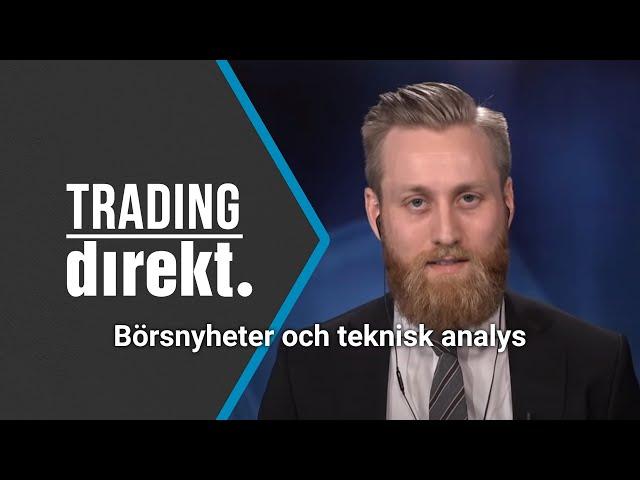 Trading Direkt 2021-05-18: Fastigheter m Johan Henriks   Teknisk analys   Analytikern om Eolus Vind
