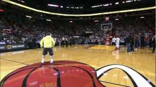 Which Fan's Half Court shot was better???