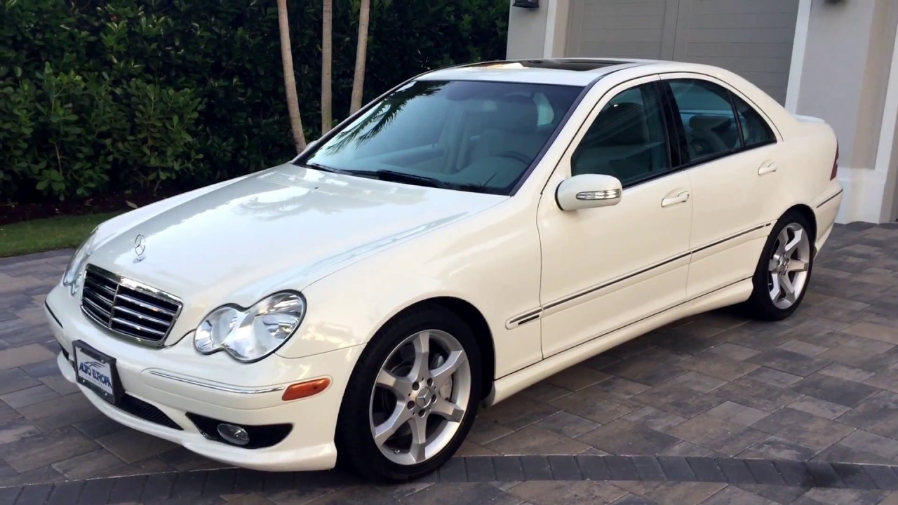 2007 mercedes benz c230 sport for sale by auto europa for Mercedes benz c230 sport 2007