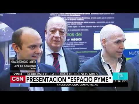 C5N - Política: Presentación de Espacio Pyme