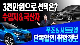 [카카오토]3000만원대 수입차 vs 국산차 선택은?,…