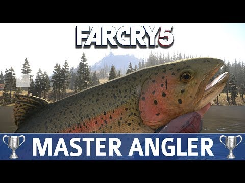 Far Cry 5: How to Get All Fishing Rods & Hard Fishing Spots (Hope County Master Angler Trophy Guide)