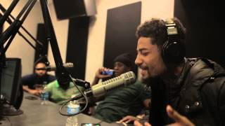 "PnB Rock ""Dj Cosmic Kev Come Up Show"" [Power 99]"