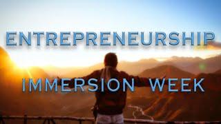 Entrepreneurship Immersion Week | Northeast Ohio Student Entrepreneurship Program