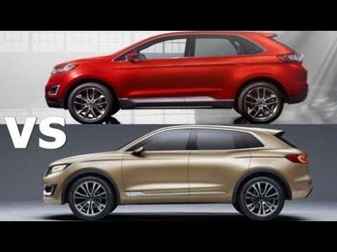 Top Cars  Lincoln Mkx Vs  Ford Edge Exterior Interior Drive