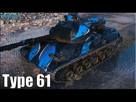 Мастер Рэдли Уолтерс на Type 61 ✅ World Of Tanks лучший бой японский ст 9 лвл