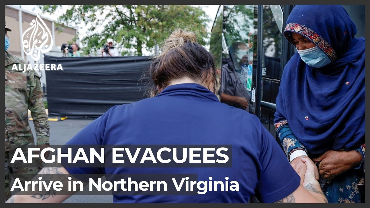 News • U.S. Marines Prepare Marine Corps Base Quantico, Virginia for Incoming Afghan Evacuees'