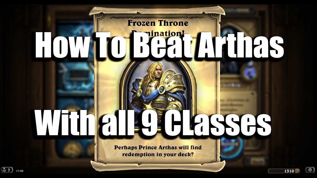 How To Beat The Lich King With All 9 Classes! [Guide] [Hearthstone]