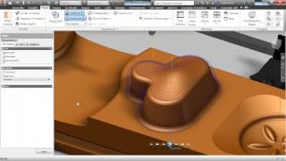 Inventor HSM: Overview of 3D Machining Strategies