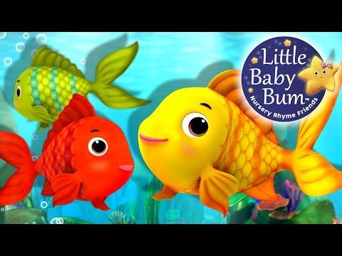 Numbers Song | Counting Fish | Nursery Rhymes | Original Song By LittleBabyBum!