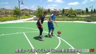 【籃球教學】 教授(Professor)聲東擊西的背身虛晃教學