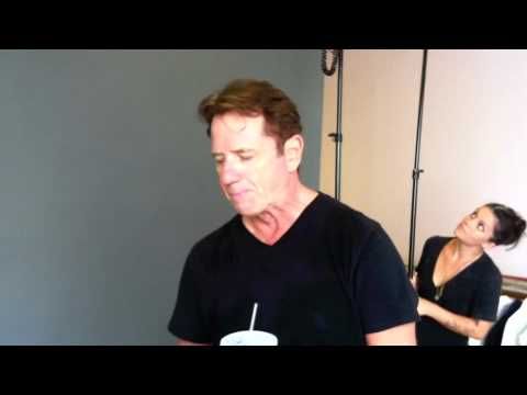 Tom Wopat - Photoshoot Behind-the-Scenes 9/1/12