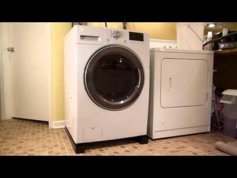 vibration isolation platform washing machine